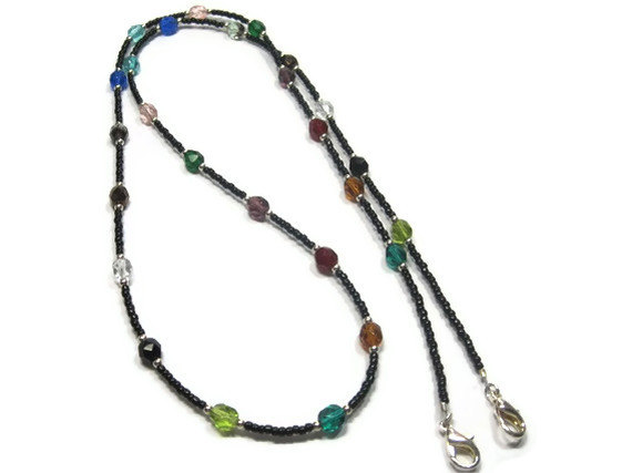 Fiesta Multi Beaded Lanyard