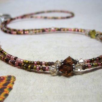Rose Garden Lanyard Eyeglass Chain