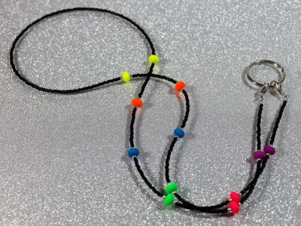 Lanyard Neon and Black