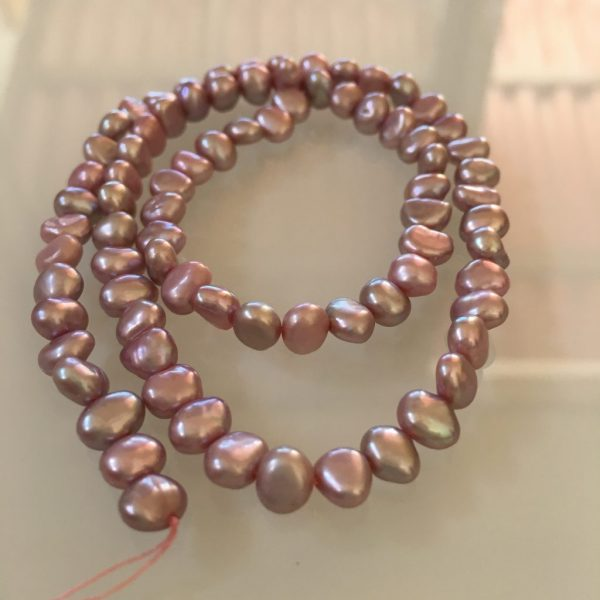 Baroque Freshwater Pearls Lavender