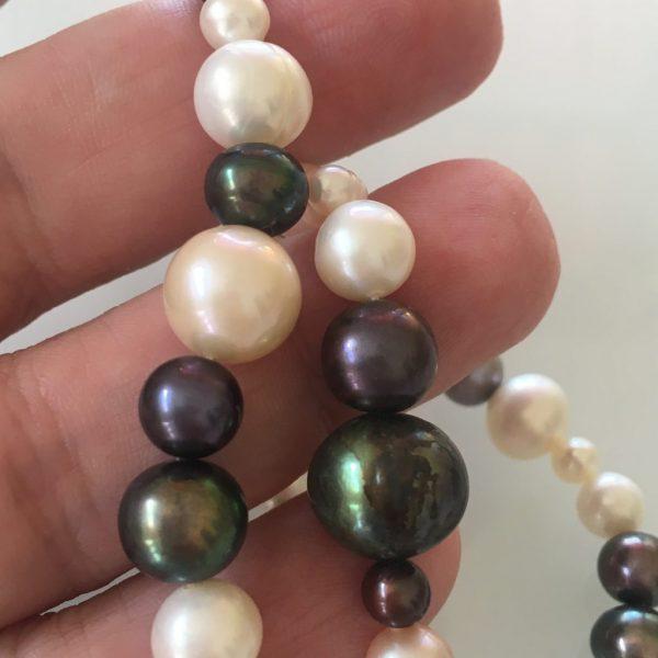 Baroque Freshwater Pearls Light/Dark